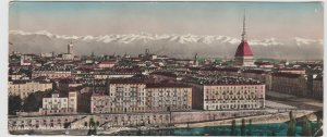 Italy Piedmont Torino Turin Monte dei Cappuccini Large Postcard