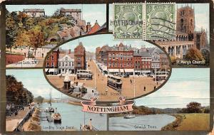 Nottingham United Kingdom, Great Britain, England Market Street, St Mary's Ch...