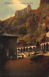 Salzburg Friedhof St Peter Postcard