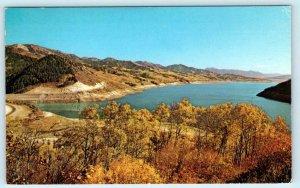 EASTIM, Idaho ID ~ PALISADES RESERVOIR Bonneville County c1960s-70s  Postcard
