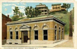 NJ - Phillipsburg. Phillipsburg Trust Co. (creases)