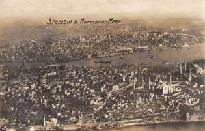 Istanbul Constantinople Turkey Marmara-Meer Real Photo Vintage Non PC JB626453