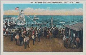 CORPUS CHRISTI - BATHING BEACH & NORTH BEACH BATH HOUSE 1920s