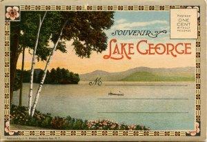 Folder - NY, Lake George.  22 Views