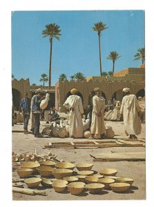 Maroc North Africa Morocco Pottery Market Vintage 4X6 Postcard