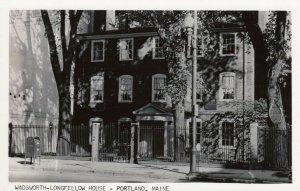RP; PORTLAND , Maine , 1954 ; Wadsworth Longfellow House