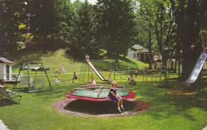 HOT SPRINGS , Virgnia  , 50-60s ; The Homestead , Playground