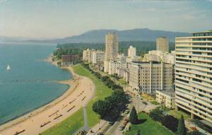 Sylvia Hotel, English Bay, Vancouver, British Columbia, Canada, 1940-1960s