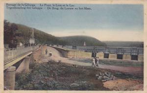 Barrage de la Gileppe, Le Pont, le Lion et le Lac, Liege, Belgium, 10-20s