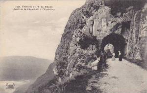Environs d'AIX les BAINS, Route de la Chambotte a Chindrieux, Haute Loire, Fr...