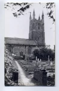 cu1639 - St Olaf's Church , Poughill , Devon - postcard