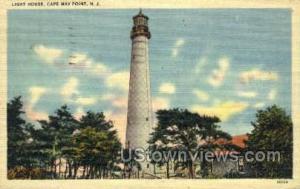 Light House  Cape May NJ 1948