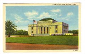 Court House, Port Arthur, Texas, 1930-1940s