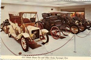 IN - Indianapolis. International Motor Speedway Hall of Fame, 1910 White Stea...