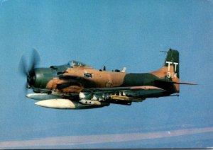 Military Aircraft Doglas A-1H Skyraider