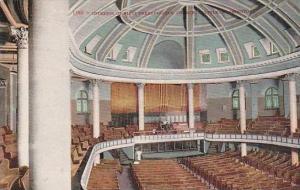Washington Seattle Interior Of First Presbyterian Church