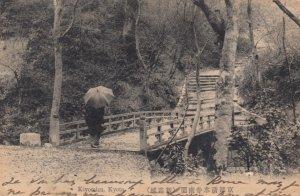 KYOTO , Japan , 1913 ; Kiyomizu , Bridge