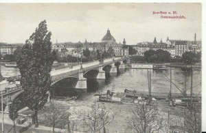 Germany Postcard - Frankfurt a M - Untermainbrude - Ref TZ7921