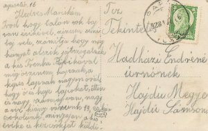 Hungary Parad Bathouse with milk hall Postcard