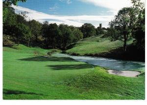postcard Cornwall Saltash St. Mellion Golf & Country Club 11th green unposted