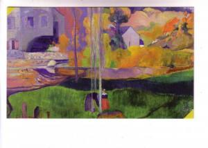 David Mill, Brittany, Paul Gaugin, Impressionist, Pushkin Museum, Moscow