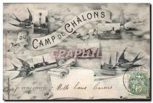 Old Postcard Camp Chalons