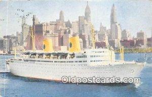 MS Gripsholm Swedish American Line Ship 1959