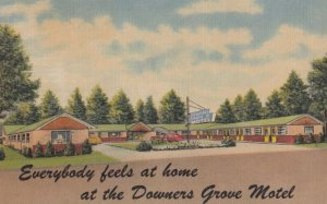 DOWERS GROVE , Illinois , 1930-40s ; Downers Grove Motel