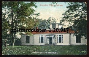 917 - WINDSOR Nova Scotia Postcard 1908 Sam Slick House