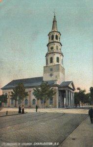 CHARLESTON , South Carolina , 00-10s; St. Michael's Church, version 3