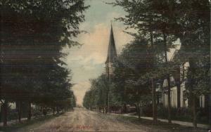 Moncton NB Main St. c1910 Postcard