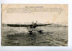 205364 FRANCE AVIATION Nieuport seaplane Hauser #1756 old