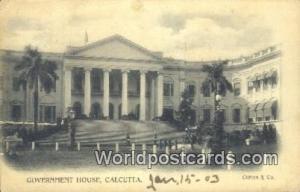 Calcutta, India Government House  Government House