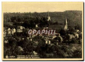 Old Postcard Esneux Panorama seen Beaumont