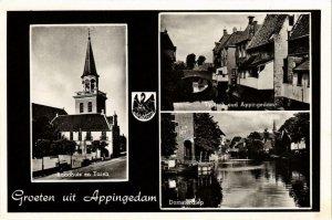 CPA Groeten uit APPINGEDAM NETHERLANDS (705951)