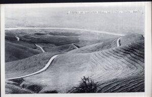 Idaho LEWISTON Curves on Lewiston Hill - RPPC by Cecil C. Nixon