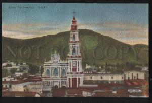 101103 ARGENTINA Iglesia San Francisco SALTA Vintage PC