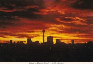 Canada Golden Sunset Calgary Alberta