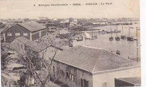Afrique Occidentale, Sailboats/Boats, Le Port, Dakar, Senegal, 1900-1910s