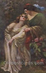 Series N. 125 Artist Signed C. Monestier, (Italy) Unused