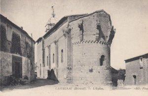 CASTELNAU, France,1910-1920s, Porche de l'Eglise