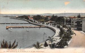 South Africa, The Esplanade et Durban, port, harbour, pier, boats