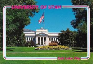 Utah Salt Lake City University Of Utah Park Building