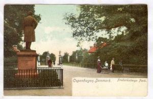 Copenhagen. Denmark. Frederiksbergs Park, 1890s-1905