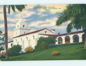 Unused Linen MUSEUM SCENE San Diego California CA hr0578@