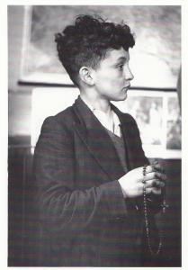 Durham Coal Mines 1950s Mining Catholic Rosary Prayers Postcard