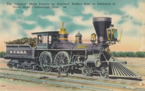 CHATTANOOGA, Tennessee , 1930-40s ; Railroad Train The GENERAL