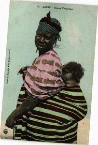 CPA AK Senegal-Dakar-Femme Toucouleur (235357)