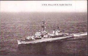 USS WILLIAM R RUSH DD-714
