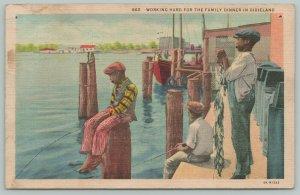 Bradenton FL Colored Boys* Working Hard For Family Dinner~Dixieland 1935